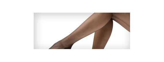 Light compression short stockings