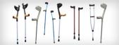 Walking sticks and crutches