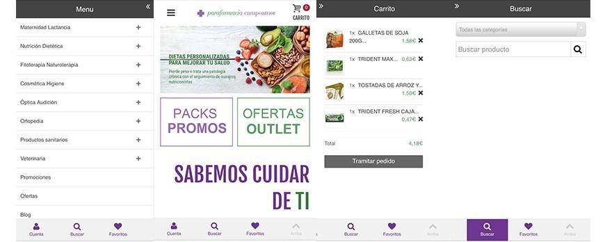 Parafarmacia Campoamor presenta seu novo website